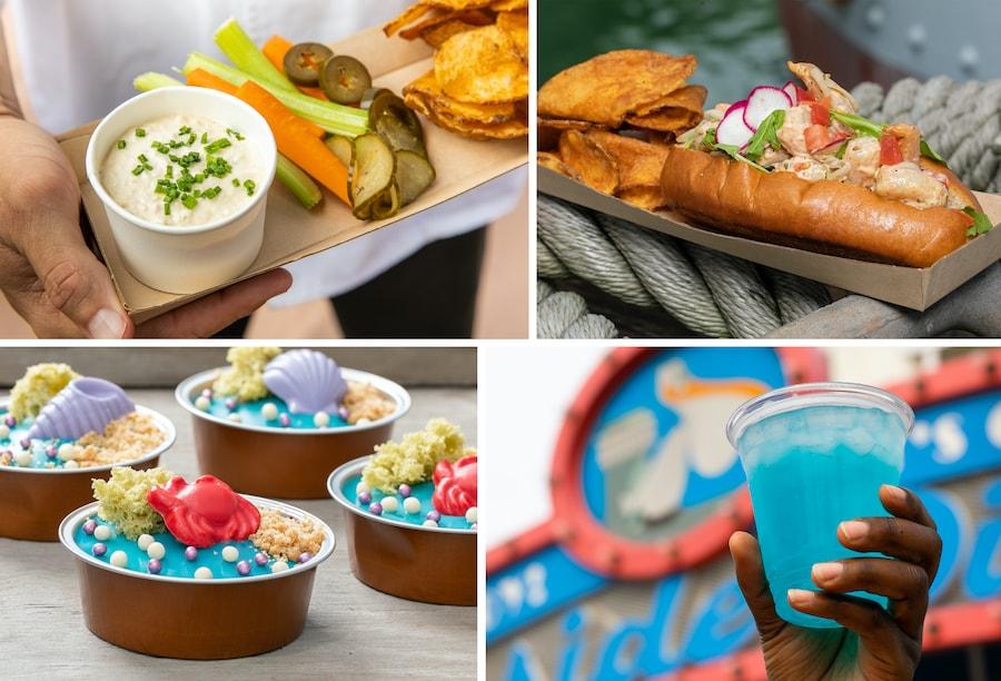 Food offerings from Dockside Diner at Disney's Hollywood Studios