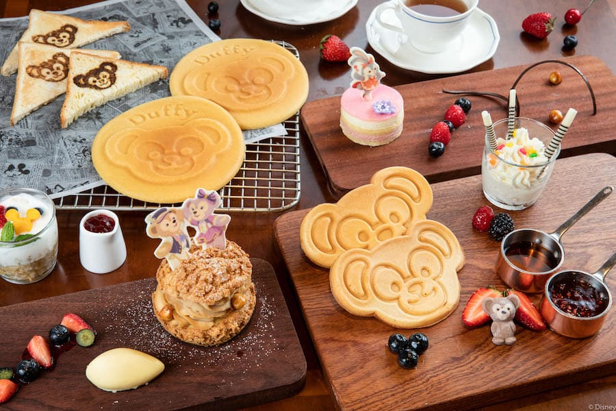 food and beverage items inspired by Duffy and Friends