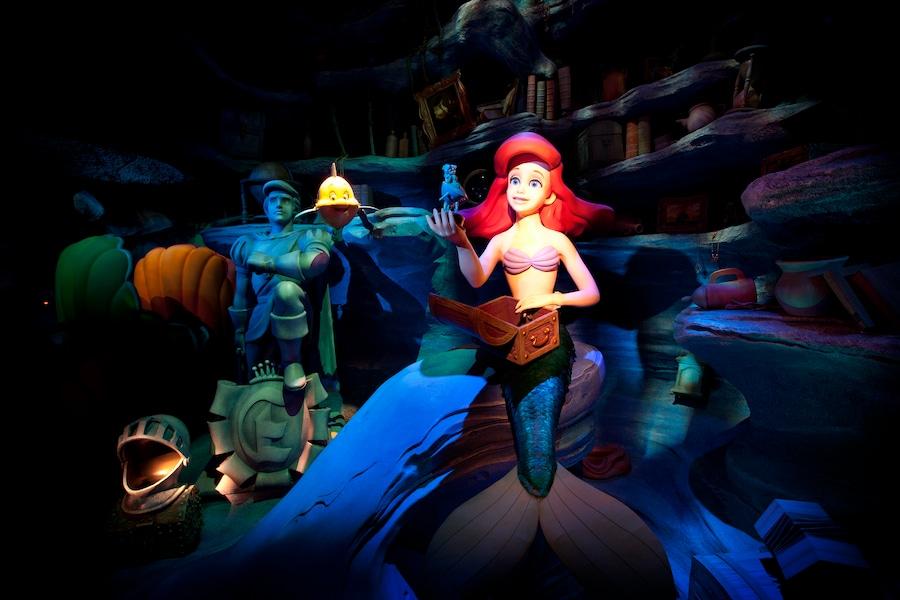 The Little Mermaid – Ariel's Undersea Adventure at Disney California Adventure park