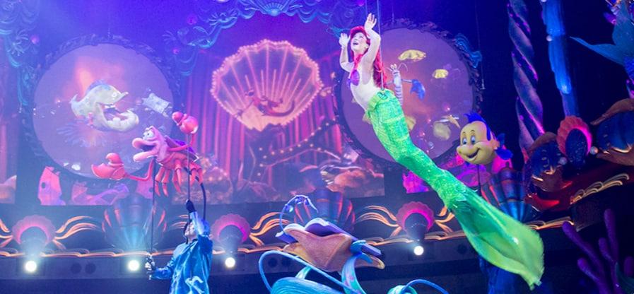 """""""King Triton's Concert"""" at Tokyo Disney Resort"""