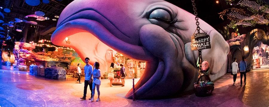 The Sleepy Whale Shoppe at Tokyo Disney Resort