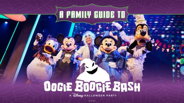 A Family Guide to Oogie Boogie Bash