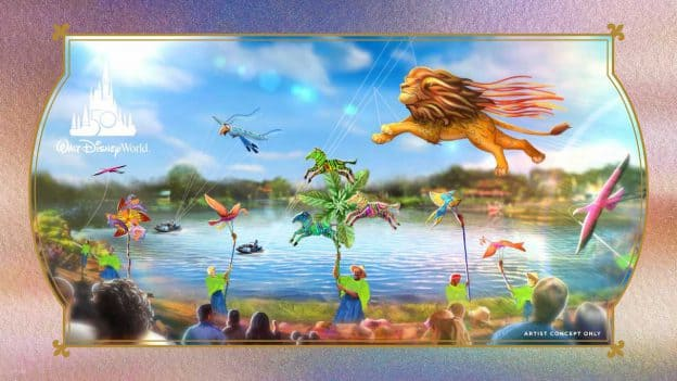 Graphic featuring a rendering of 'Disney KiteTails'