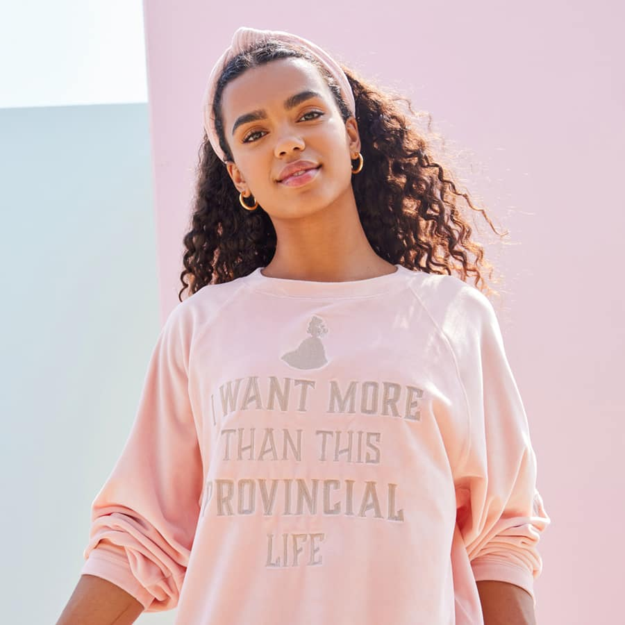 Princess Loungewear collection top