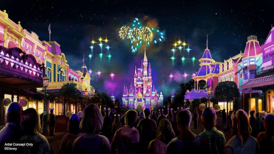 Disney Enchantment Firework Show 3