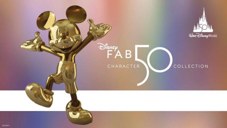 """Disney mostra produção da coleção """"Disney Fab 50"""""""