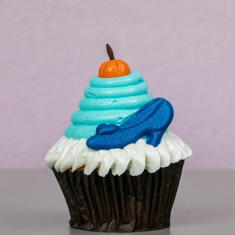 Cinderella cupcake from Contempo Café at Disney's Contemporary Resort