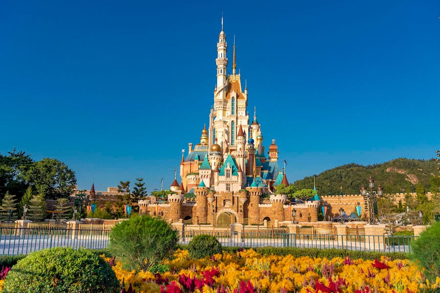 Castle of Magical Dreams at Hong Kong Disneyland