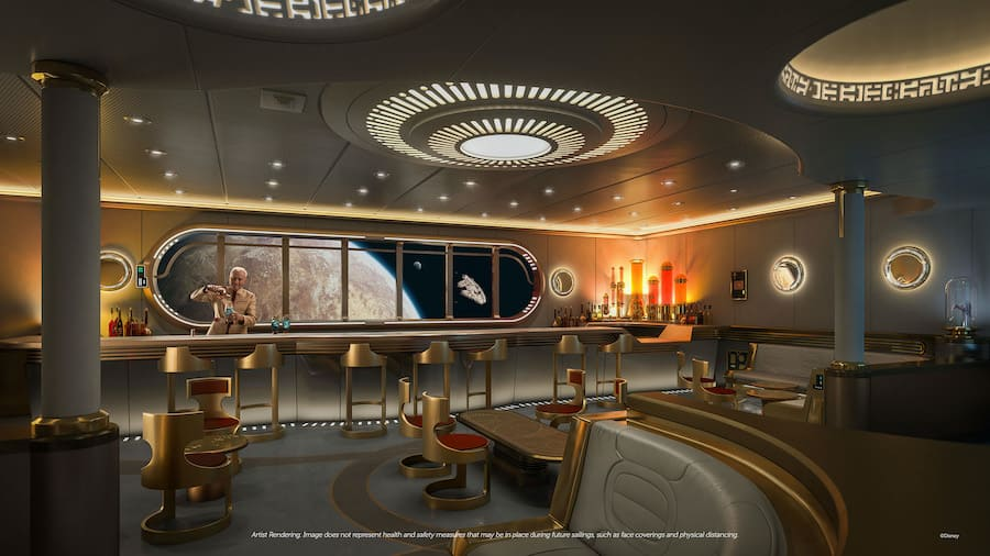 This IS the place you're looking for. Take to the stars at Star Wars: Hyperspace Lounge, an epic adult experience where you can try some of the local favorites throughout the Star Wars galaxy.
