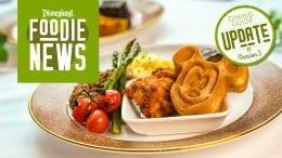 Disneyland dining update #5 graphic