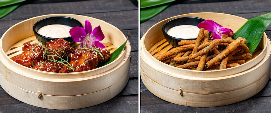 Collage of offerings from Trader Sam's
