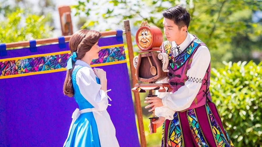Belle in Shanghai Disney Resort