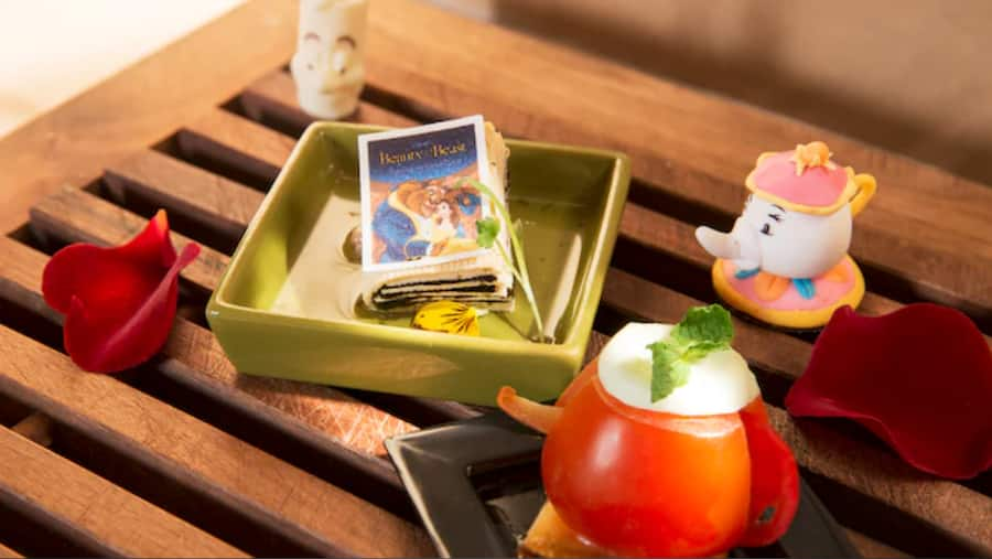 Treats from Lumiere's Kitchen at Shanghai Disney Resort