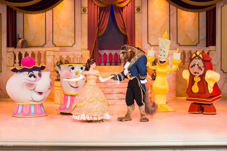 """""""Beauty & the Beast Live on Stage"""" at Disney's Hollywood Studios"""