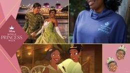 World Princess Week Celebrates Tiana graphic