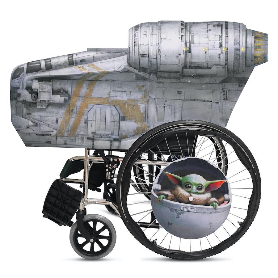 "Star Wars: ""The Mandalorian"" Wheelchair Cover Set"