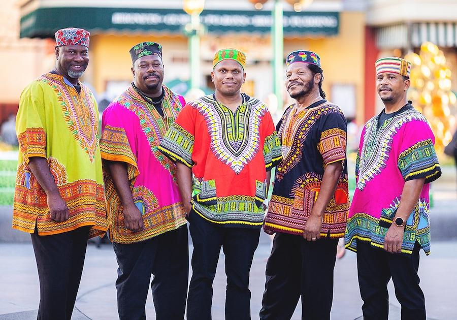 Island Reggae, a five-piece band