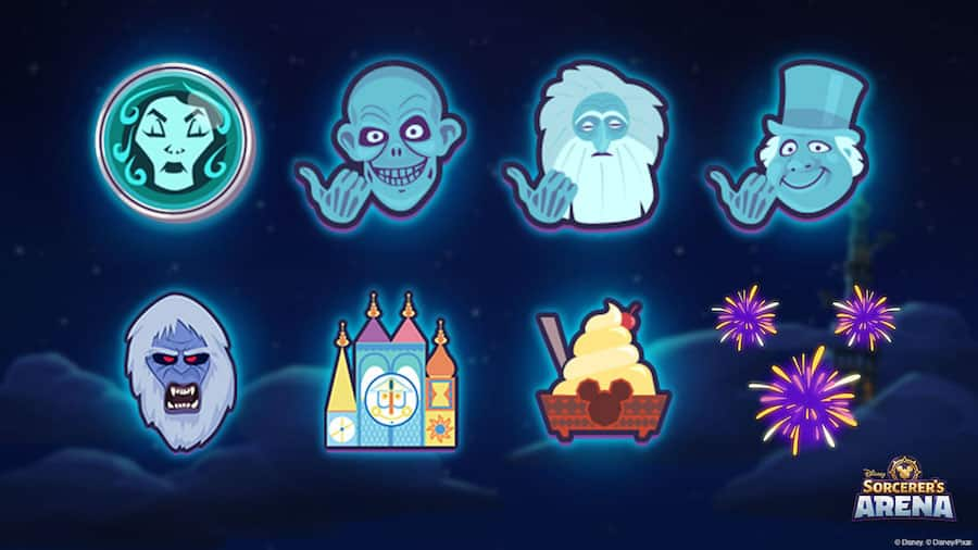 Talismans available in Disney Sorcerer's Arena
