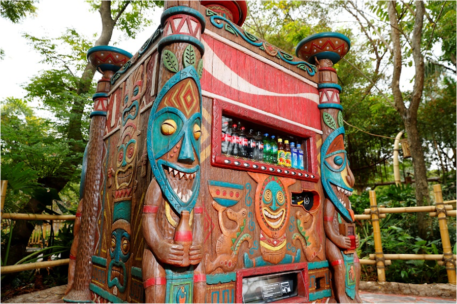 Adventureland Vending Machine Hong Kong Disneyland