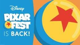 Pixar Fest logo
