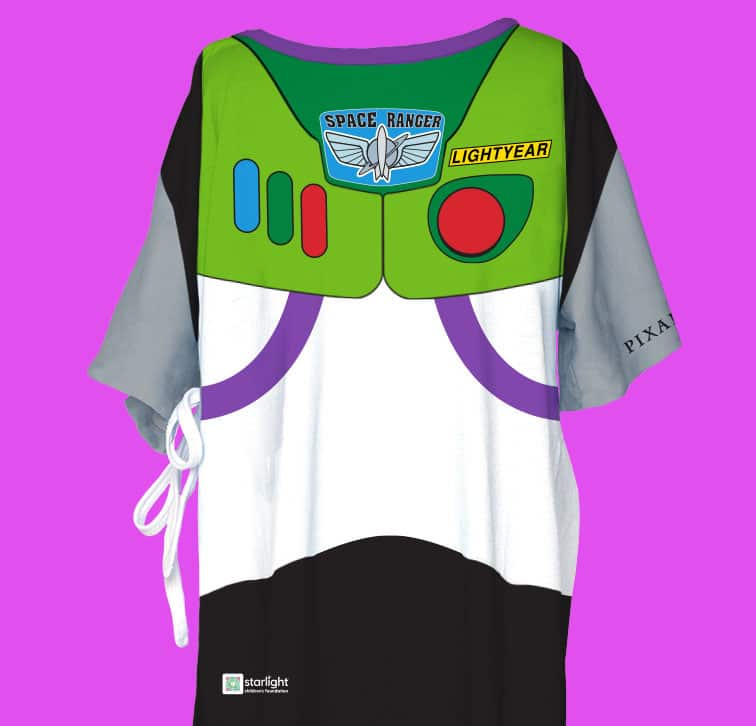"""Pixar-themed Starlight Hospital Wear inspired by iconic Pixar movie """"Toy Story"""""""