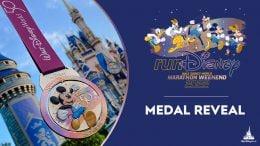 Medal revela graphic for the 2022 Walt Disney World Marathon Weekend