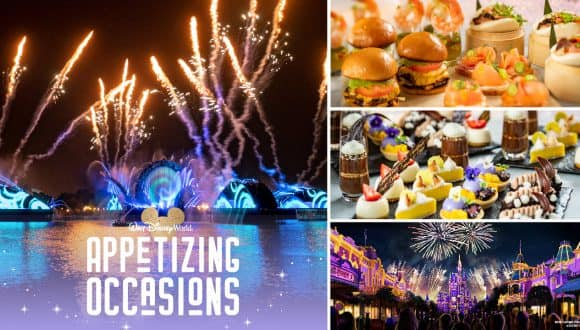 Walt Disney World Appetizing Occasions: Dessert Parties and Dinner Packages