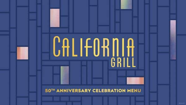 California Grill terá menu especial para os 50 anos do Walt Disney World