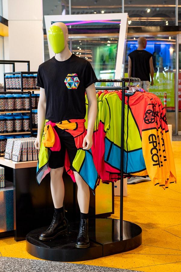 EPCOT merchandise in Creations Shop