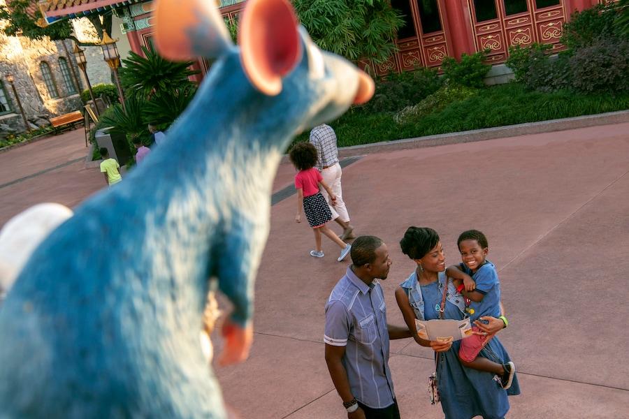 Remy's Ratatouille Hide & Squeak at EPCOT
