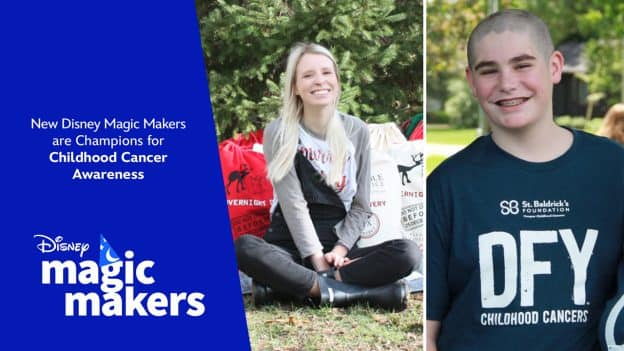 New Disney Magic Makers are Champions for Childhood Cancer Awareness - Disney Magic Makers
