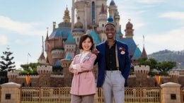 Lily Chan and Tony Dick, new Ambassadors at Hong Kong Disneyland Resort