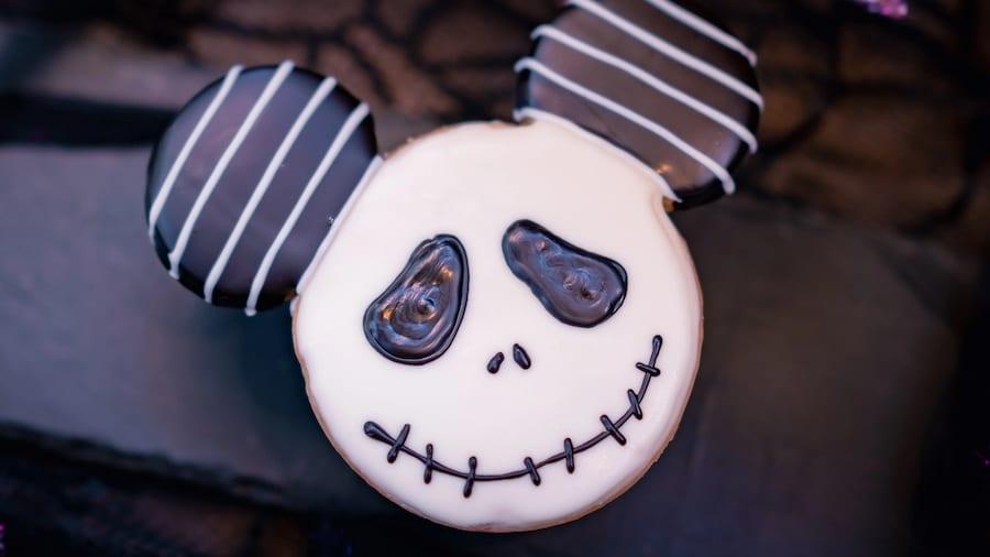 Jack Skellington cookie