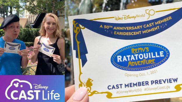 Cast member Preview for Remy's Ratatouille Adventure