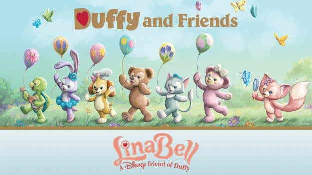 Duffy and Friends, LinaBell, A Disney friend of Duffy