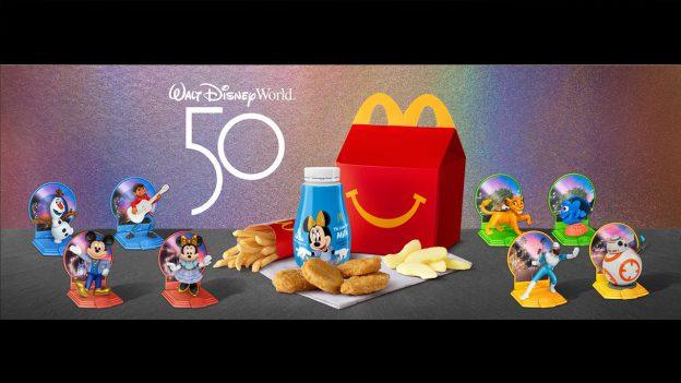 McDonald's Happy Meal® toys celebrating the 50th anniversary of Walt Disney World Resort