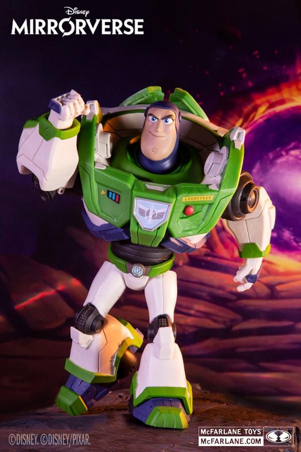 Disney Mirrorverse McFarlane Toys Figures Revealed Buzz Lightyear. More at mcfarlane.com