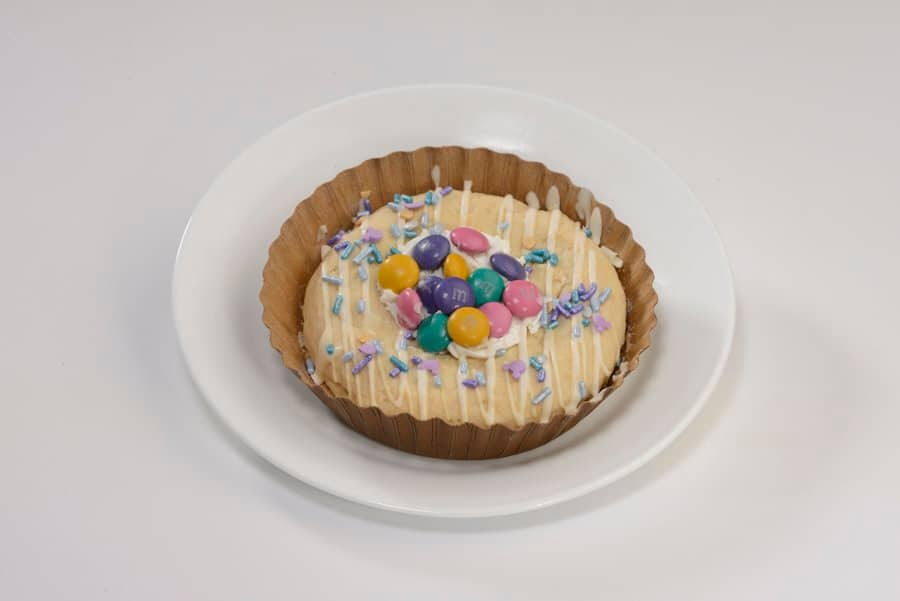 50th M&M Celebration and Spraying Covering Cookies Sold to Available at Main Street Confectionery