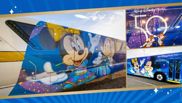 50 anos: Meios de transporte ganham nova decoração na Disney
