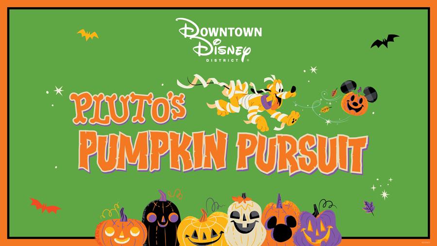 Downtown Disney District - Pluto's Pumpkin Pursuit