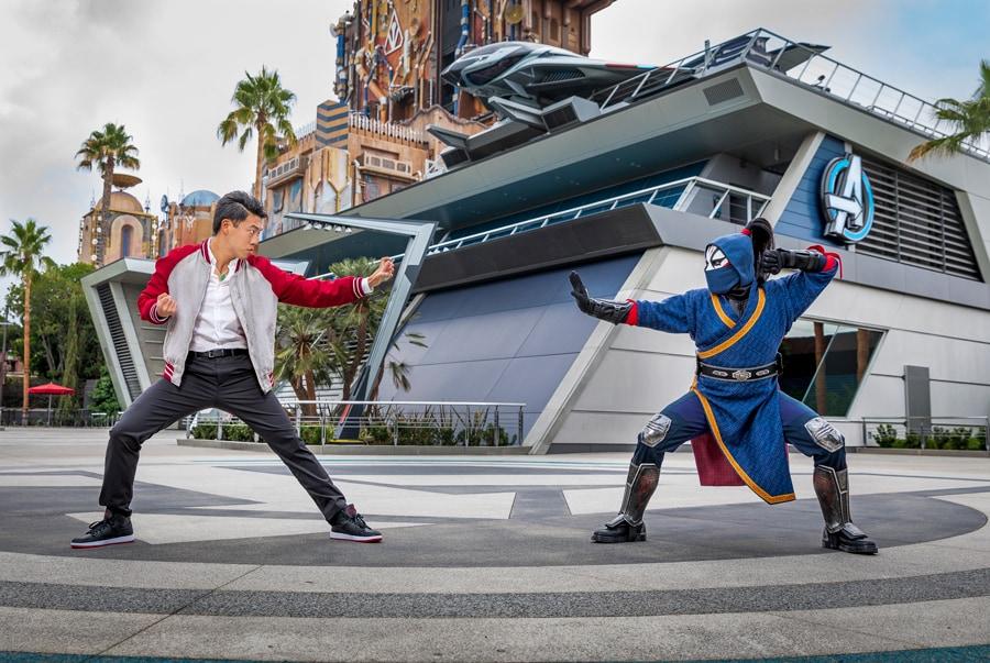 Shang-Chi e Agente da Morte chegam ao Avengers Campus