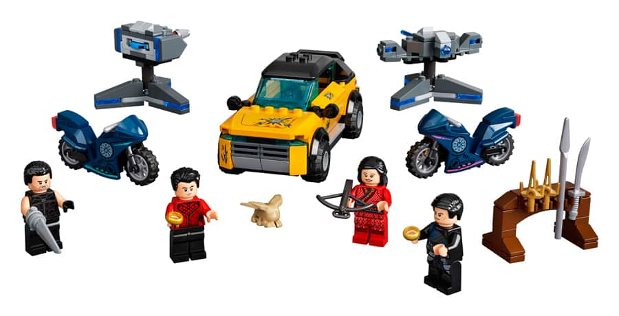 """""""Shang-Chi and The Legend of The Ten Rings"""" 321-piece LEGO Set"""