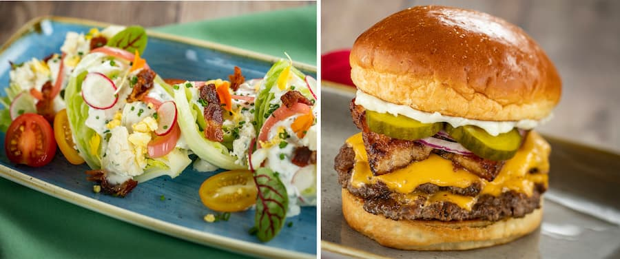 Breakfast items from Steakhouse 71, Opening Soon at Disney's Contemporary Resort