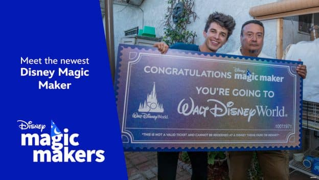 Disney Magic Maker Oscar Cabrera and influencer Brent River