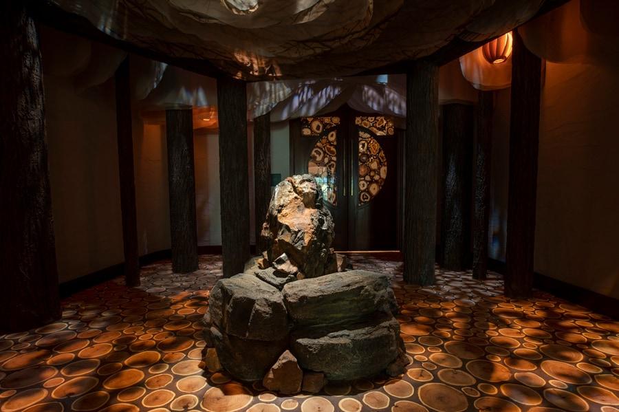 Tenaya Stone Spa interior
