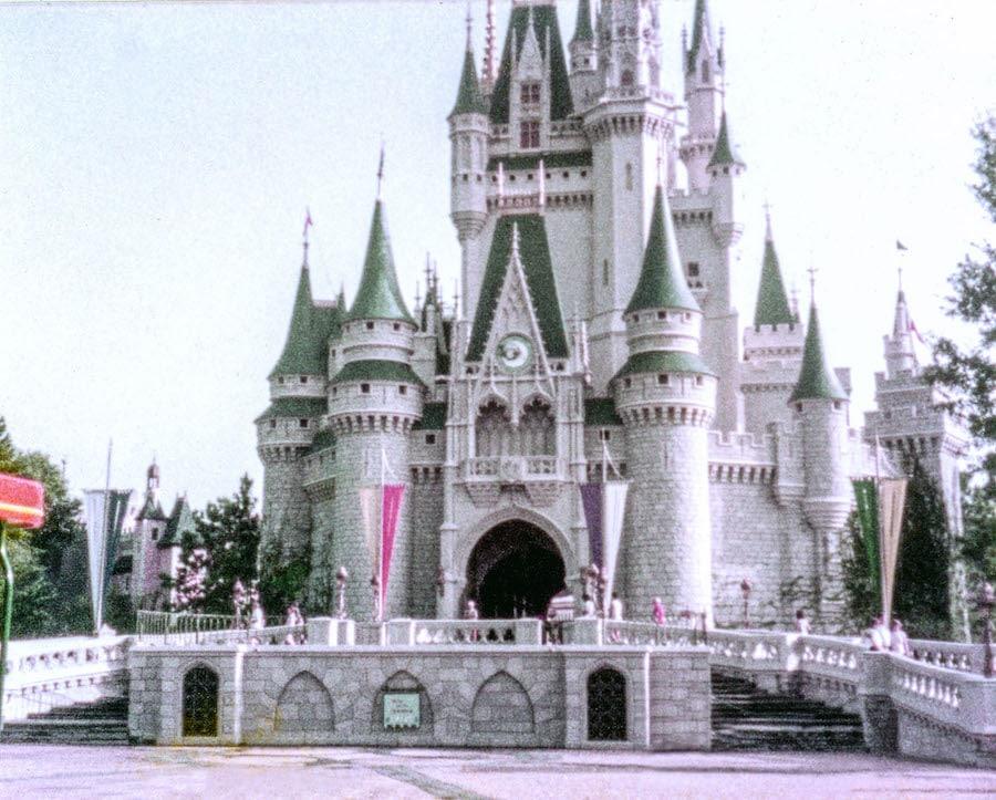 Cinderella Castle in 1983