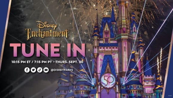 'Disney Enchantment' LIVE graphic