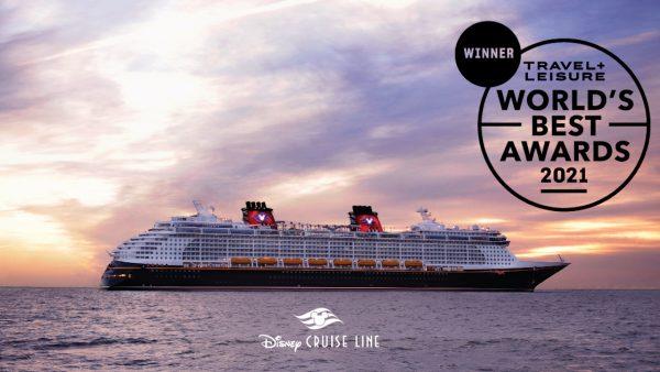 Disney Cruise Line é eleita a melhor do mundo pela 3ª vez