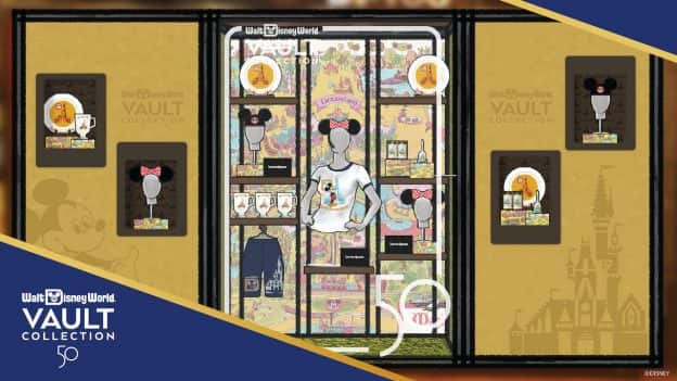 Rendering of the Vault Collection shopping experience coming to Walt Disney World Resort