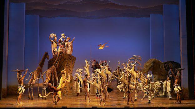 """Award-winning Disney musical """"The Lion King"""" on Broadway"""
